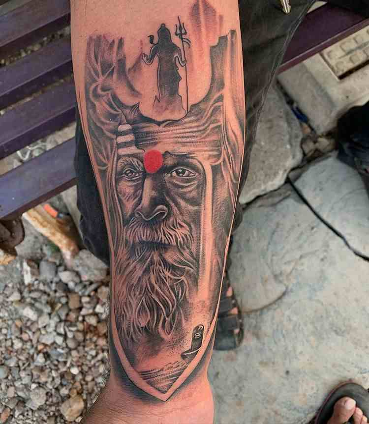 Calix-tattoo-amravati-hand-aghori