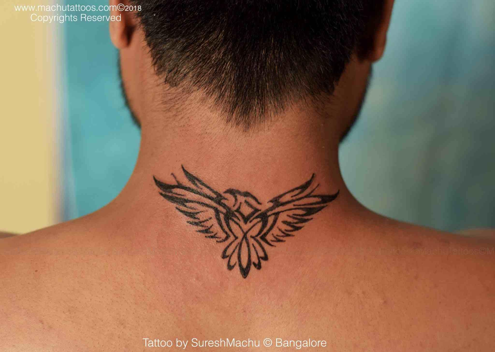 machu-tattoo-bangalore-back-neck-bird