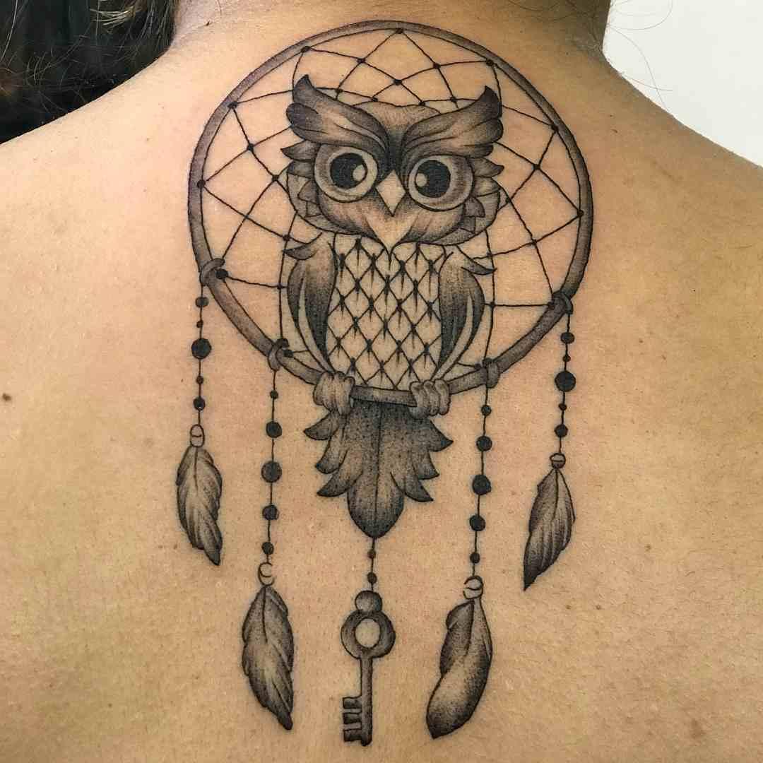 Attitudio-Tattoo-delhi-back-owl