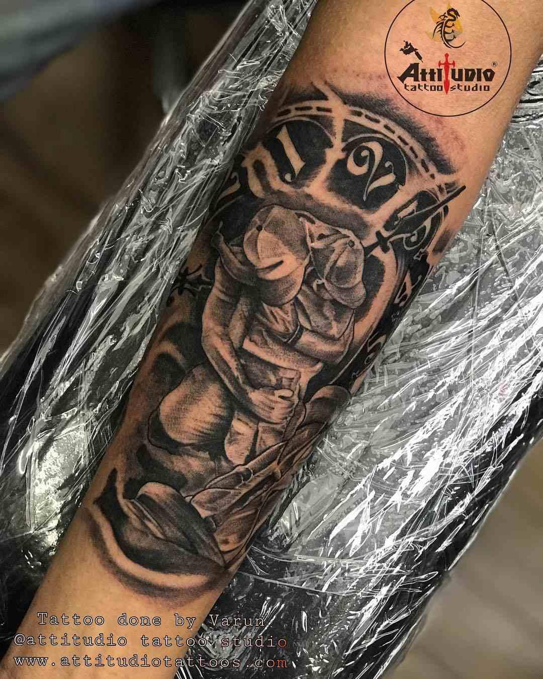 attitudio-tattoo-delhi-solider-son-meet