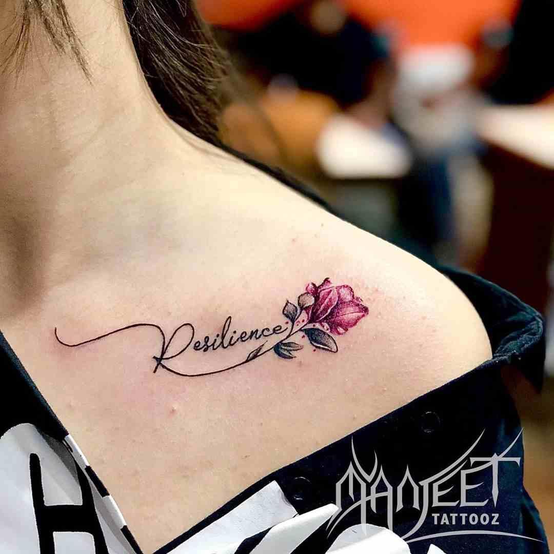 manjeet-tattooz-delhi-coller-bone-name-flower