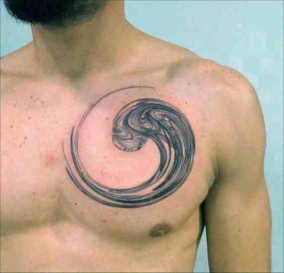 mike-tattoo-delhi-chest-waves