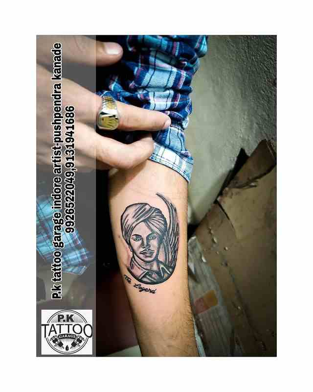 p-k-tattoo-indore-bhagat-singh