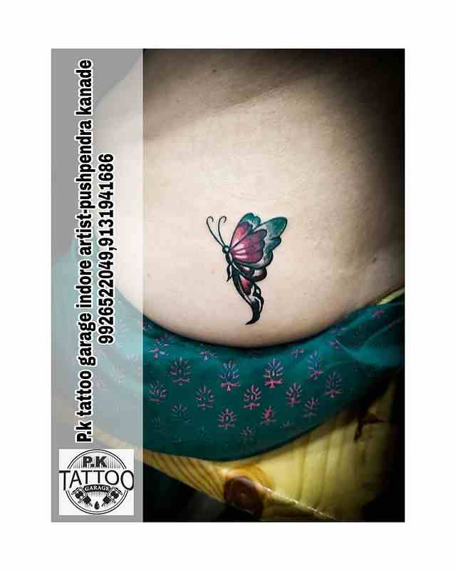 p-k-tattoo-indore-butterfly