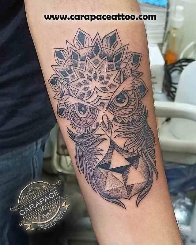 carapace-tattoo-studio-kolkatta-custom-owl