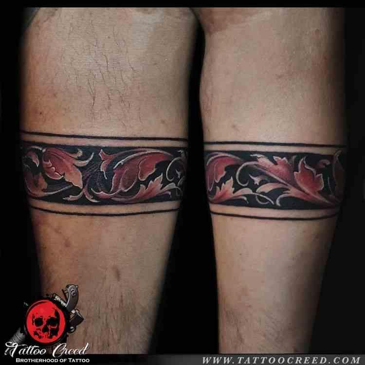 creed-tattoo-studio-kolkatta-color-arm-band-tattoo