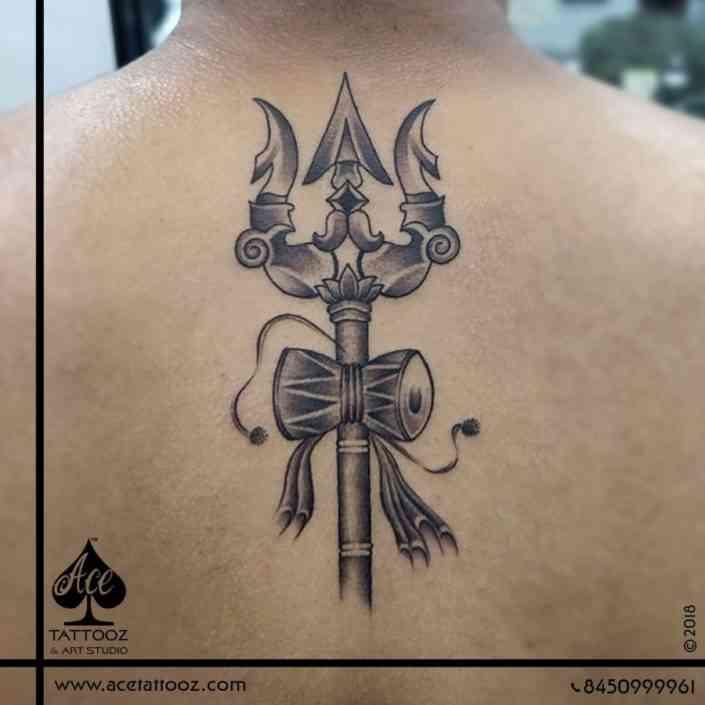 Ace-tattoo-mumbai-Lord-Shiva-Trishul-3D-Tattoo