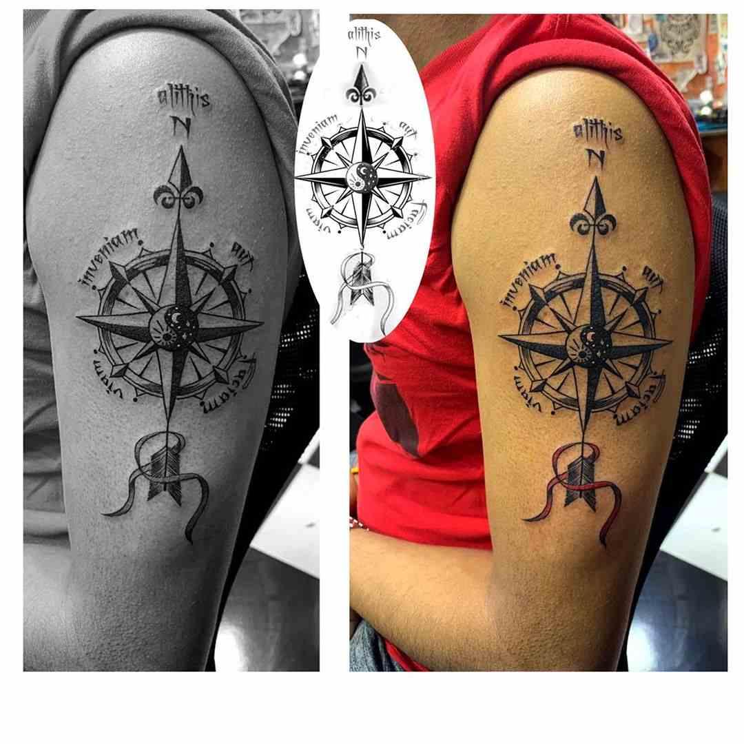 al-tattoo-studio-mumbai-shoulder-compas