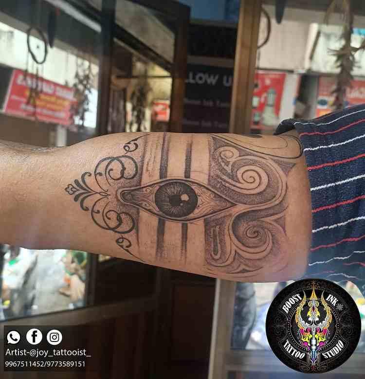 boost-ink-tattoo-mumbai-arm-shiva-eye