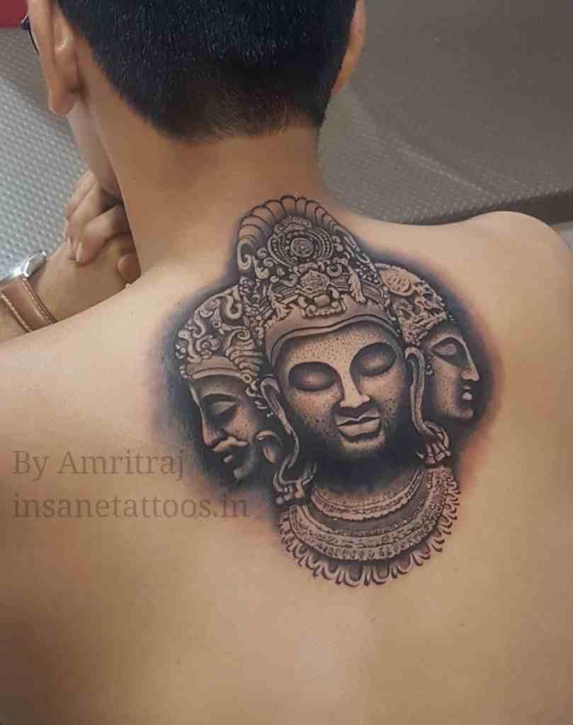 insane-tattoo-mumbai-back-budha
