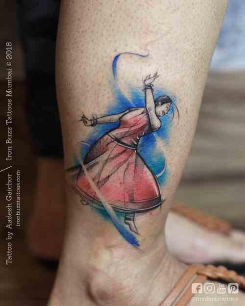 Iron-buzz-tattoo-mumbai-bandra-leg-dance-lady-compressed