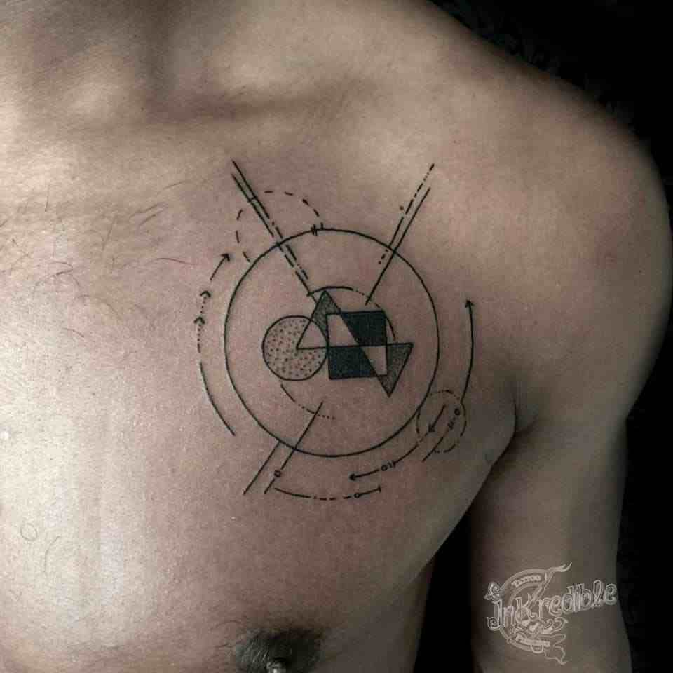 inkredible-tattoo-nagpur--chest-geomertry