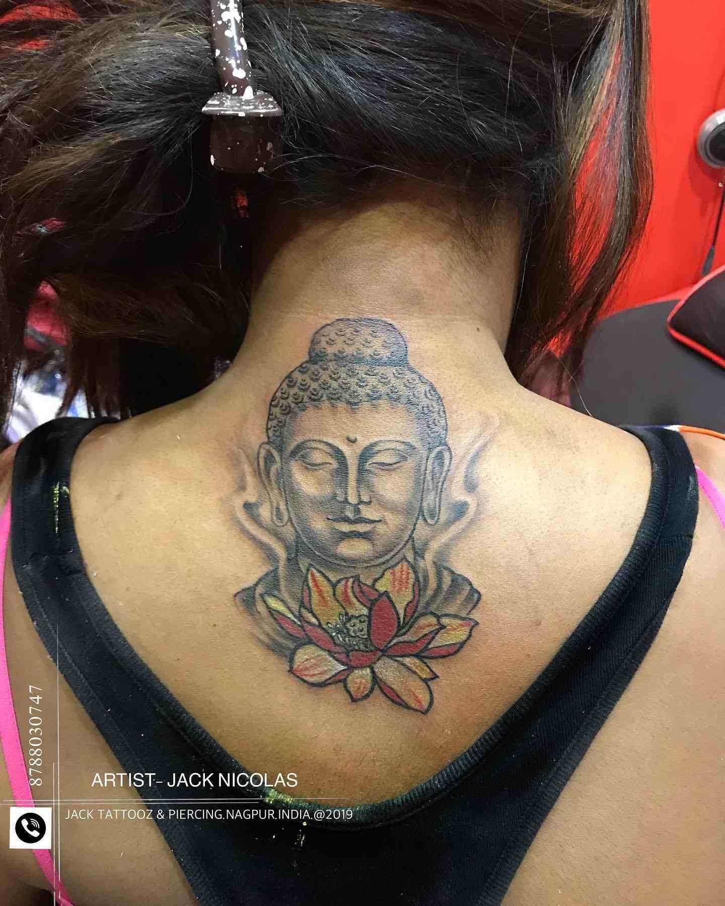 jack-tattos-nagpur-back-budhha