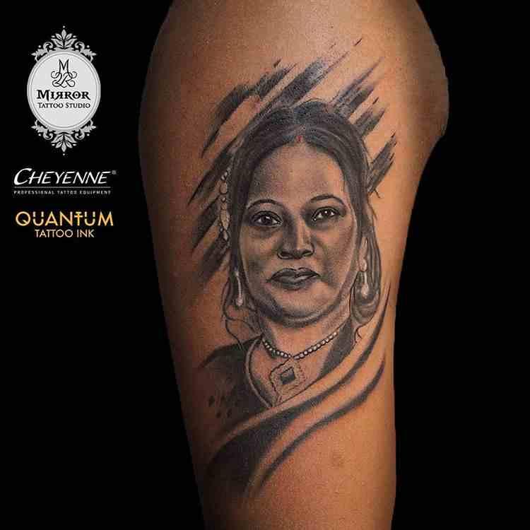 mirror-tattoos-nagpur-beceip-potrait