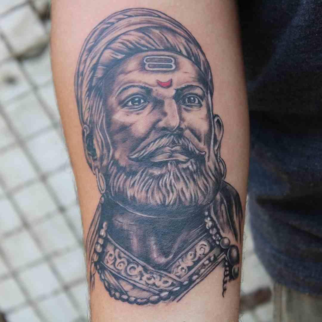 think-tattoo-nagpur-hand-shivaji