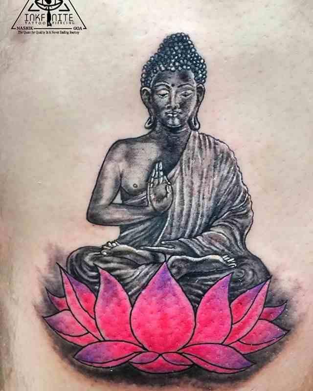 inkfinite-tattoo-studio-nashik-buddha