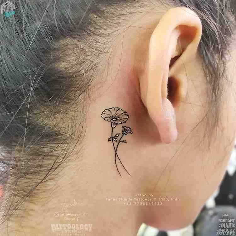 tattoology-tattoo-studio-vashi-ear-flower