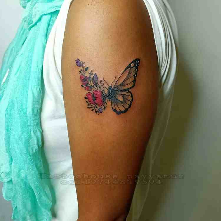 tattoo-house-payynur-color-butterfly-tattoo
