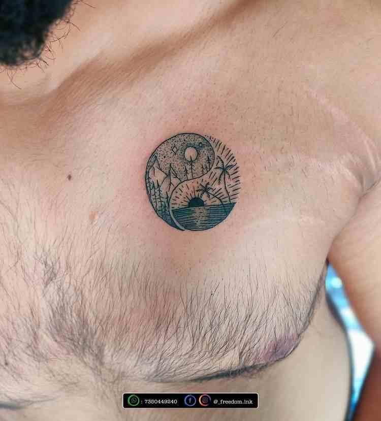 freedom-ink-tattoo-studio-pune-abstract-tattoo