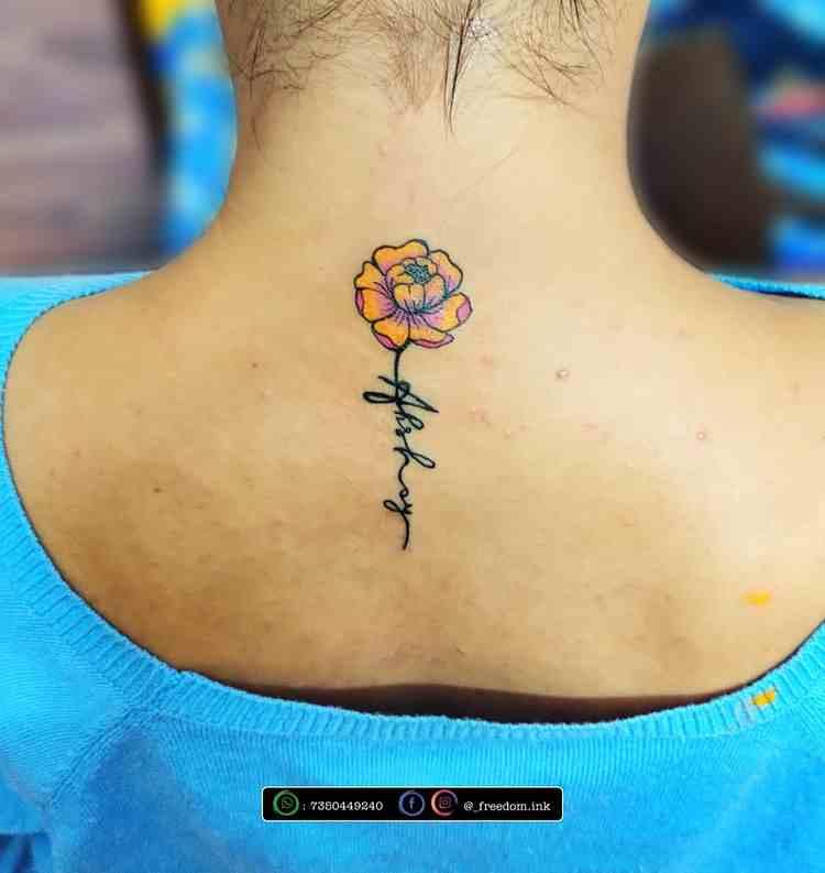 freedom-ink-tattoo-studio-pune-color-flower
