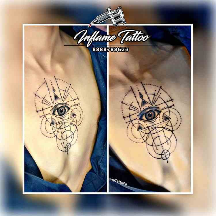 inflame-tattoo-pune-chest-linework