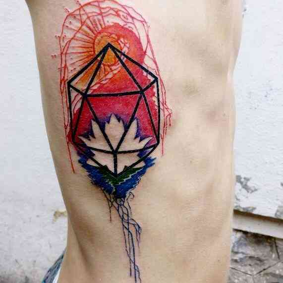 inkarnation-tattoo-pune-chest-color-abstract